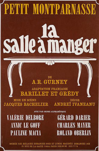 La-salle-a-manger-Photo  - Affiche
