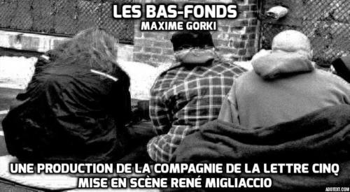 Affiche Les Bas fonds
