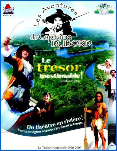 Affiche Les aventures du Capitaine Dubord