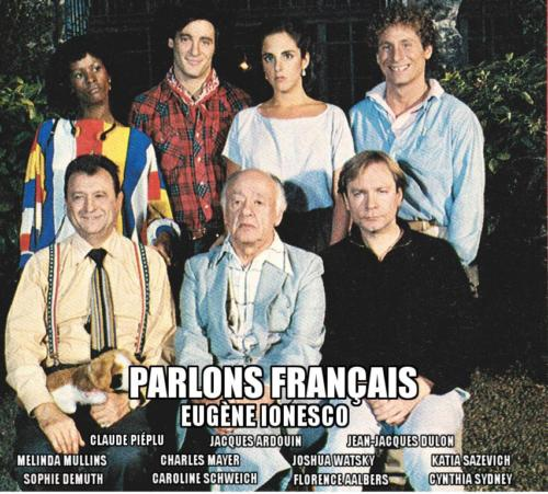 Affiche Parlons francais